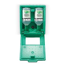 Augenspülstation Wandbox Natriumchloridlösung