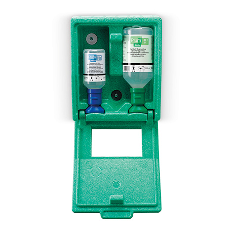 Augenspülstation Wandbox Phosphatpufferlösung