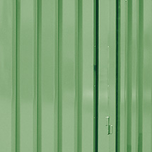 Außenwandlackierung für Umweltcontainer, 275 Liter
