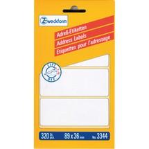AVERY Zweckform Adress-Etiketten für Schreibmaschinen- oder Handbeschriftung