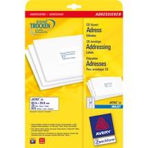 AVERY Zweckform Adress-Etiketten zum Bedrucken