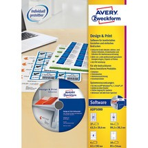 AVERY Zweckform® Software Design and Print