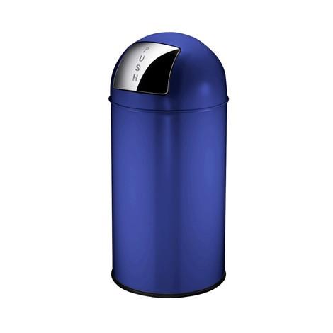 Avfallsbehållare Push, självstängande lucka, 40 liter