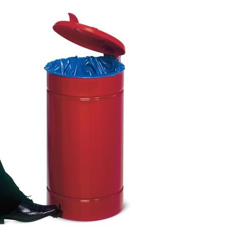 Avfallsbehållaren med fotpedal Euro-pedal, 60 liter