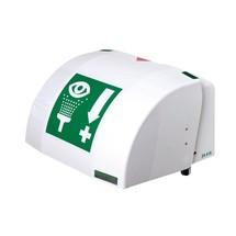B-Safety Augen-/Gesichtsdusche PremiumLine, Auffangbecken mit Abdeckung