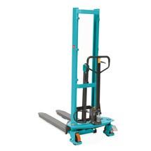 B-Ware Hydraulik-Stapler Ameise® Quick Lift, RAL 5018 türkisblau