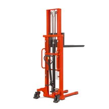 B-Ware Hydraulik-Stapler BASIC mit Teleskop-Mast - Tragkraft 1.000 kg, Hubhöhe 2.500 mm