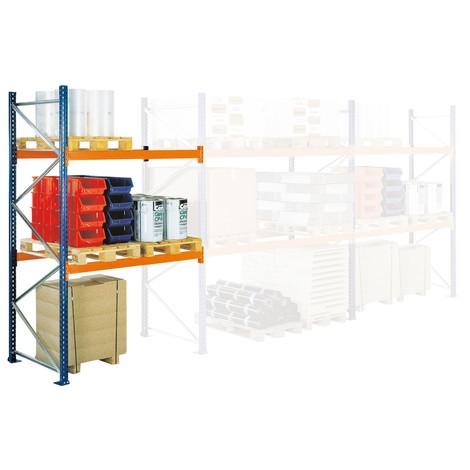 B-Ware Palettenregal SCHULTE, Typ S, Anbaufeld, FL 10.250 kg, HxBxT 4.000 x 2.700 x 1.100 mm