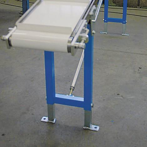 B-Ware Stützen für Gleitbandförderer, Bahnbreite 600 mm, Höhe 800 mm