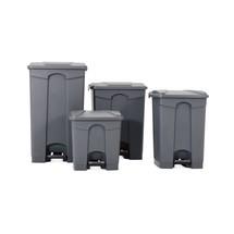 B-Ware Tret-Abfalleimer BASIC, 68 Liter, PP, grau