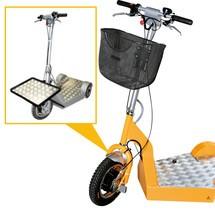 Bagagedrager voor elektrische transportstep Ameise®