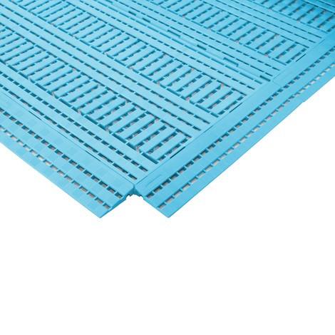 Baguette de bordure pour tapis pour poste de travail en polyéthylène