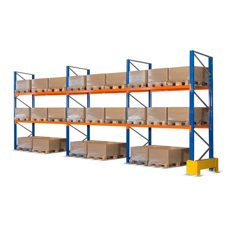 Bakre galler för komplett lastpallställ paket