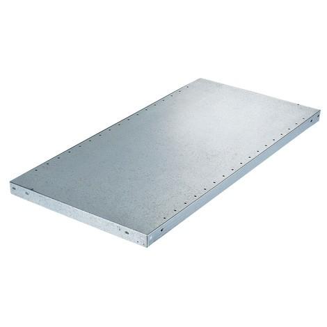 Balda para estantería de cargas pequeñas META con sistema de encajado, carga por estante 230 kg y galvanizada