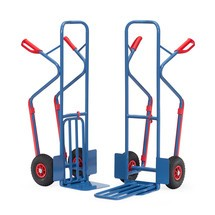 Balíkový vozík fetra®, se skládací lopatou