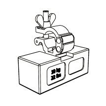 Ballastgewicht 10kg für Arbeitsgerüst ZARGES Compact