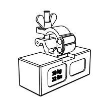 Ballastgewicht für Klappgerüst COMPACT von ZARGES