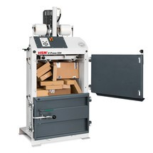 Ballenpresse HSM V-Press 504