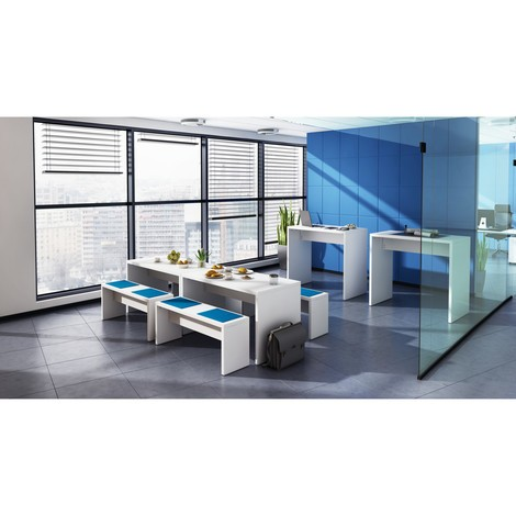 Banco para mesa de reunión, 2 ud/caja