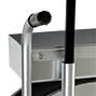 Bandabrollwagen verzinkt für Kunststoffband. Mit Ablage + Bandbremse