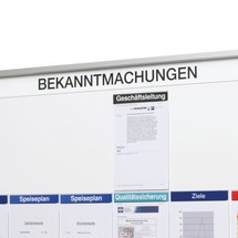 Bande de texte «Annonce» pour tableau organisationnel