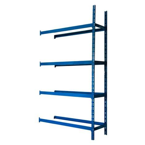 Bandenrek, aanbouwveld, blauw