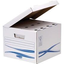 BANKERS BOX® Klappdeckelbox Kubus