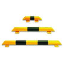 Barra de proteção contra colisão para utilização em espaços interiores
