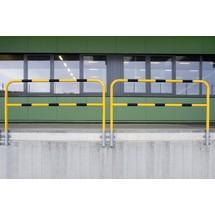 Barra de proteção, interior, fixação lateral, removível