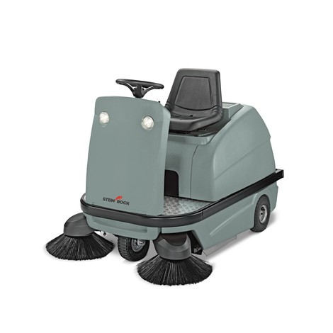 Barredora aspiradora con conductor Steinbock® A-1200 C