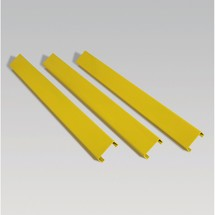 Barrier boards, C profile, outdoor use