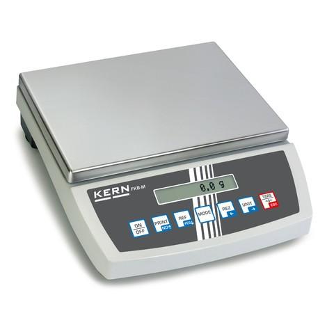 Báscula de sobremesa con pantalla LCD