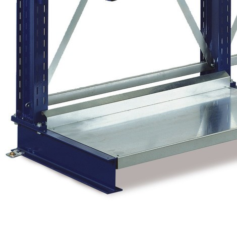Base shelf for META cantilever arm, load capacity 500 kg
