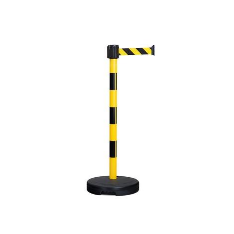 BASIC belt warning stand