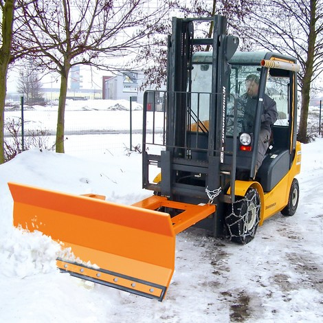 BASIC fork lift snow shovel
