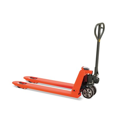 BASIC hand pallet truck with weighing scale