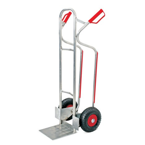 BASIC handcart, with puncture-proof tyres