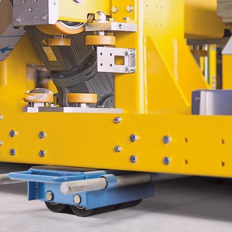 BASIC machine moving dolly skate, adjustable