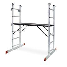 BASIC stege ram av aluminium 3 i 1