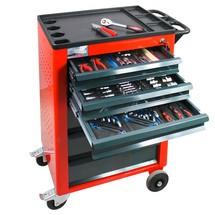 BASIC verkstäder vagn, inclusive 115-bitars verktygssortiment