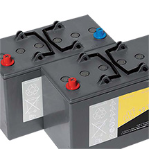 Batterie 12V-85Ah für Kehr-Saugmaschine FLOORTEC 760