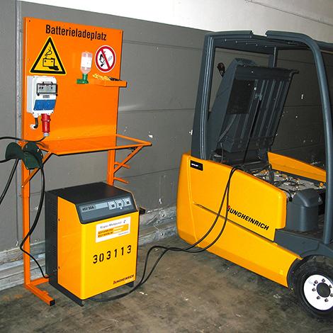Batterieladeplatz Typ PL