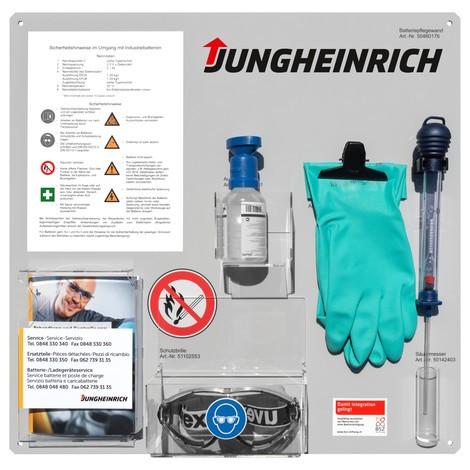 Batteriepflegewand Jungheinrich