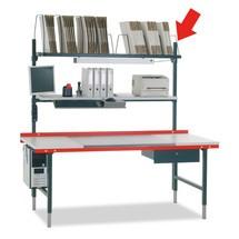 Befestigungsholme für Hüdig + Rocholz Packtisch-System