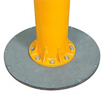 Befestigungsmaterial für Fundament für niedrigb. Schwenkkrane