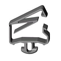 Befestigungsset für Kabel am Arbeitstisch, Set = 5 Stck.
