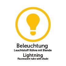 Beleuchtung für PROFI-Schaukästen