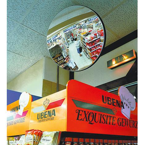 Beobachtungs-Spiegel rund für Innenbereiche