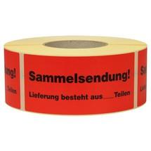 """Berichtlabel """"Collectieve verzending"""""""