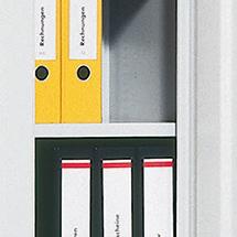 Beschichtete Fachböden für Flügeltürschränke